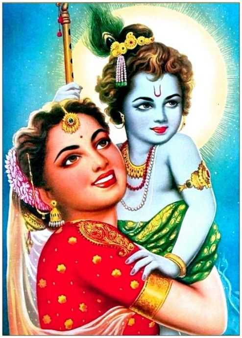 This image has an empty alt attribute; its file name is image-yashoda-ma-bal-gopal-krishna-dp-blue-3d-painting-shree-android.jpg